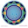 Mandala Sunseal V Labyrinth