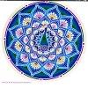 Mandala Sunseal V Peacock Kaleidoscope