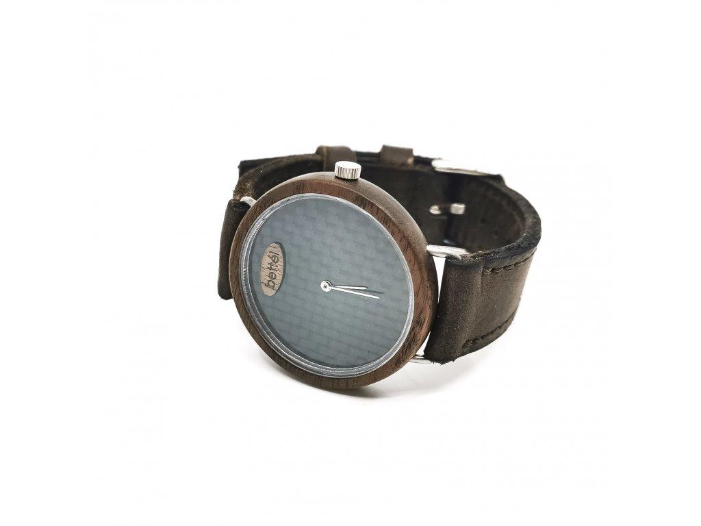 Dřevěné hodinky - Ellipse 40