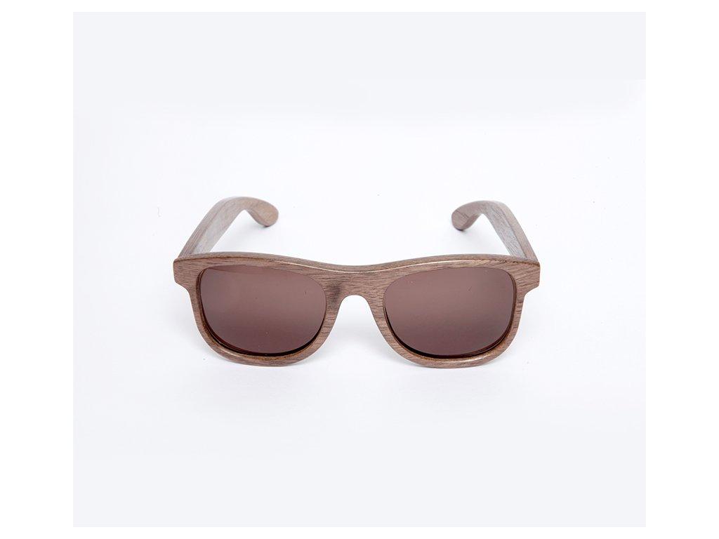 Dřevěné brýle Erdo ořech