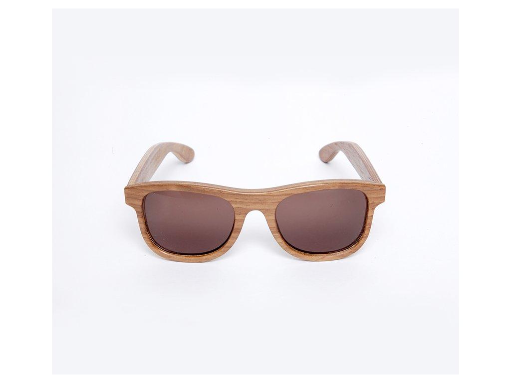 Dřevěné brýle Erdo kiaat