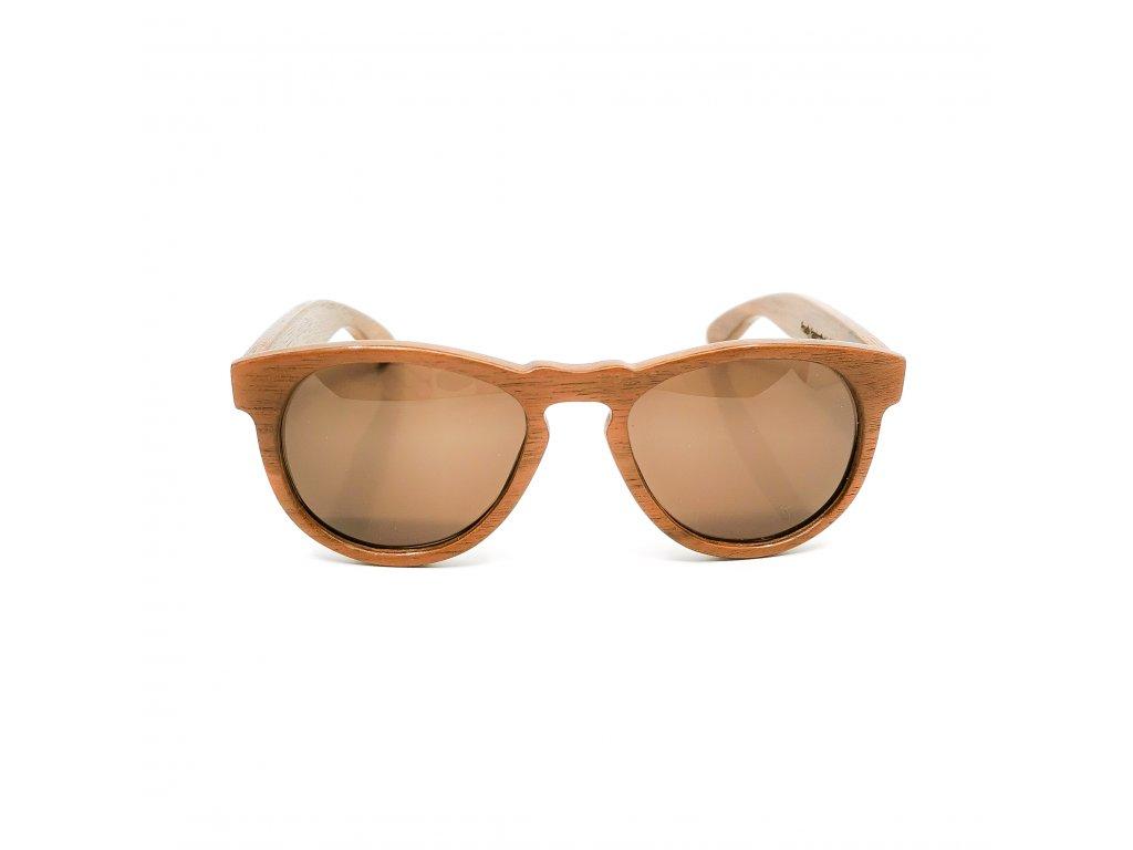 Dřevěné brýle Dru ořech