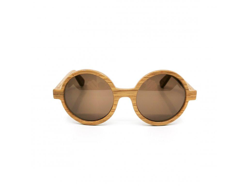 Dřevěné brýle DiLegno dub