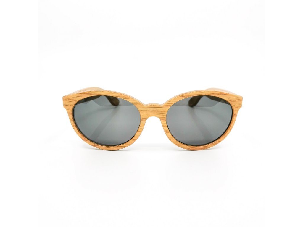 Dřevěné brýle Trae dub