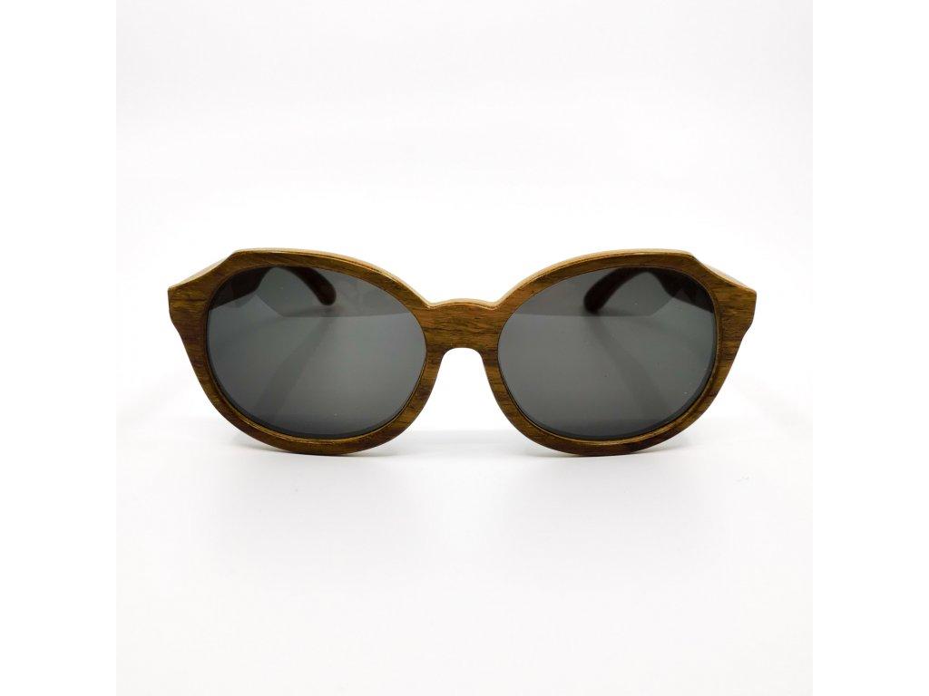 Dřevěné brýle Madeira kiaat