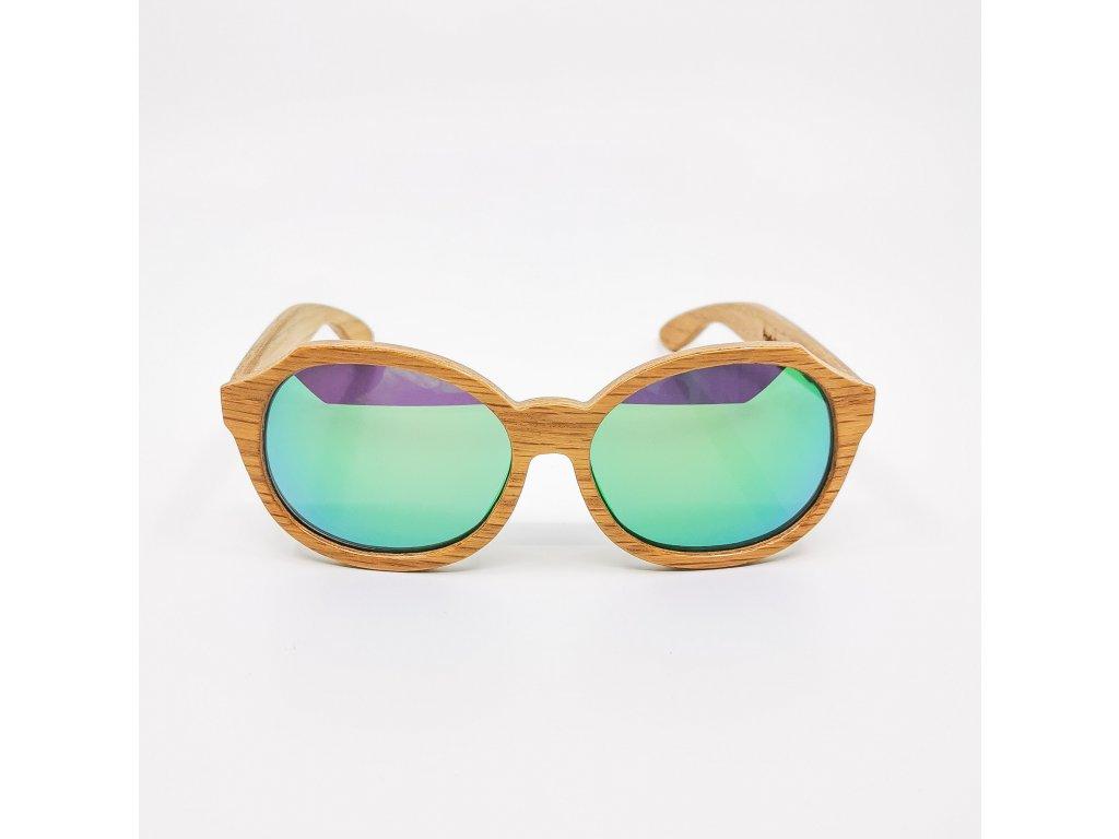 Dřevěné brýle Madeira oak II