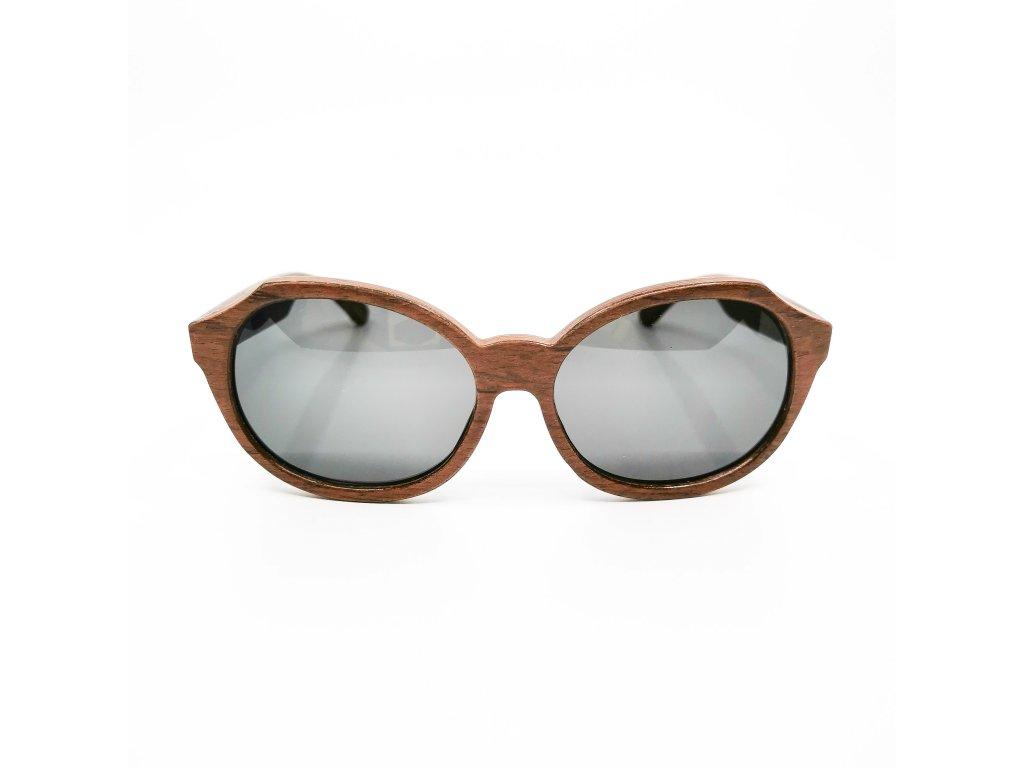 Dřevěné brýle Madeira rosewood