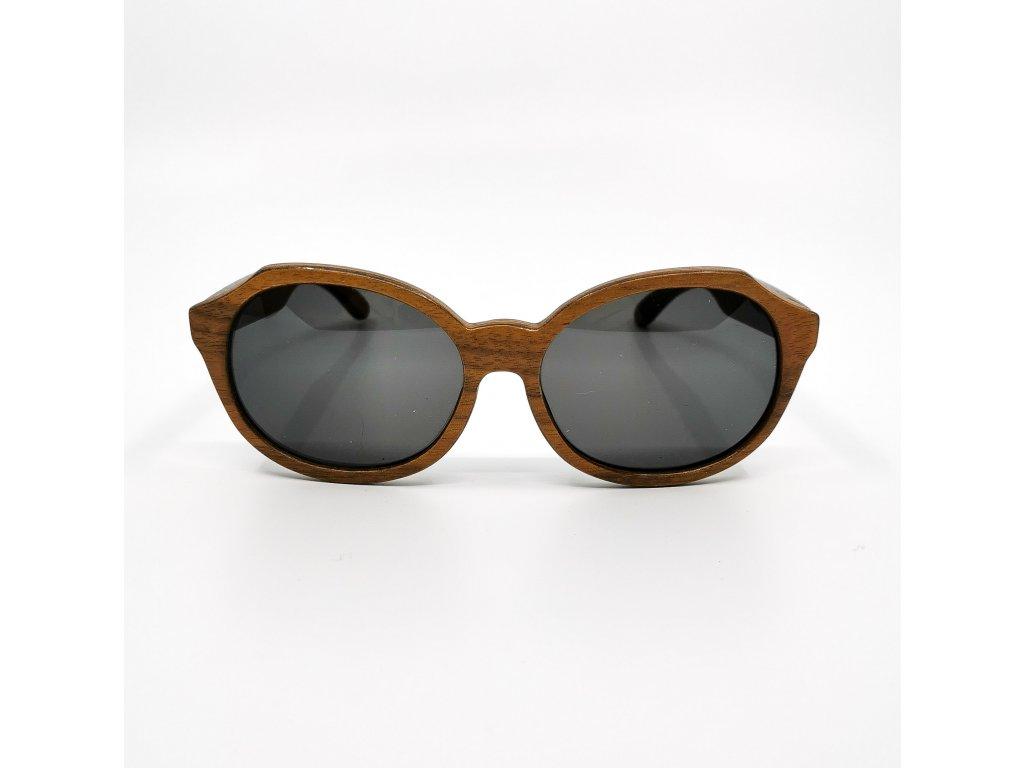 Dřevěné brýle Madeira walnut