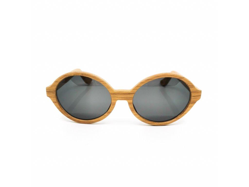 Dřevěné brýle Amelia dub