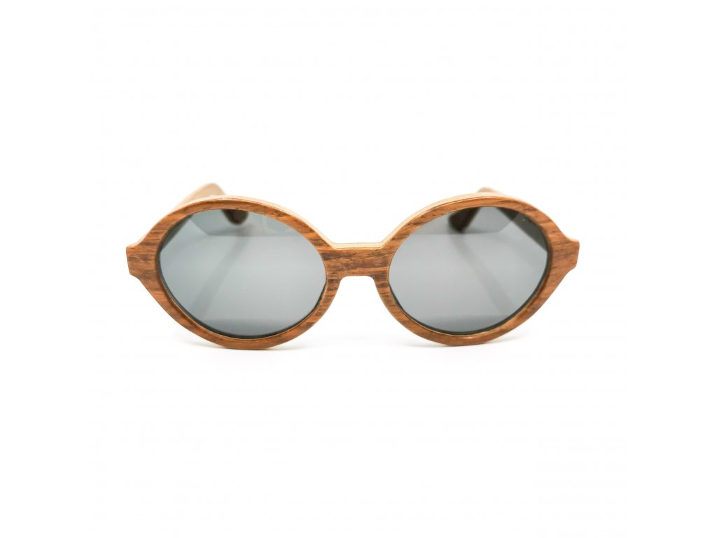 Dřevěné brýle Amelia kiaat