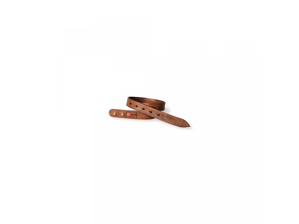 Kožený pásek rezavý