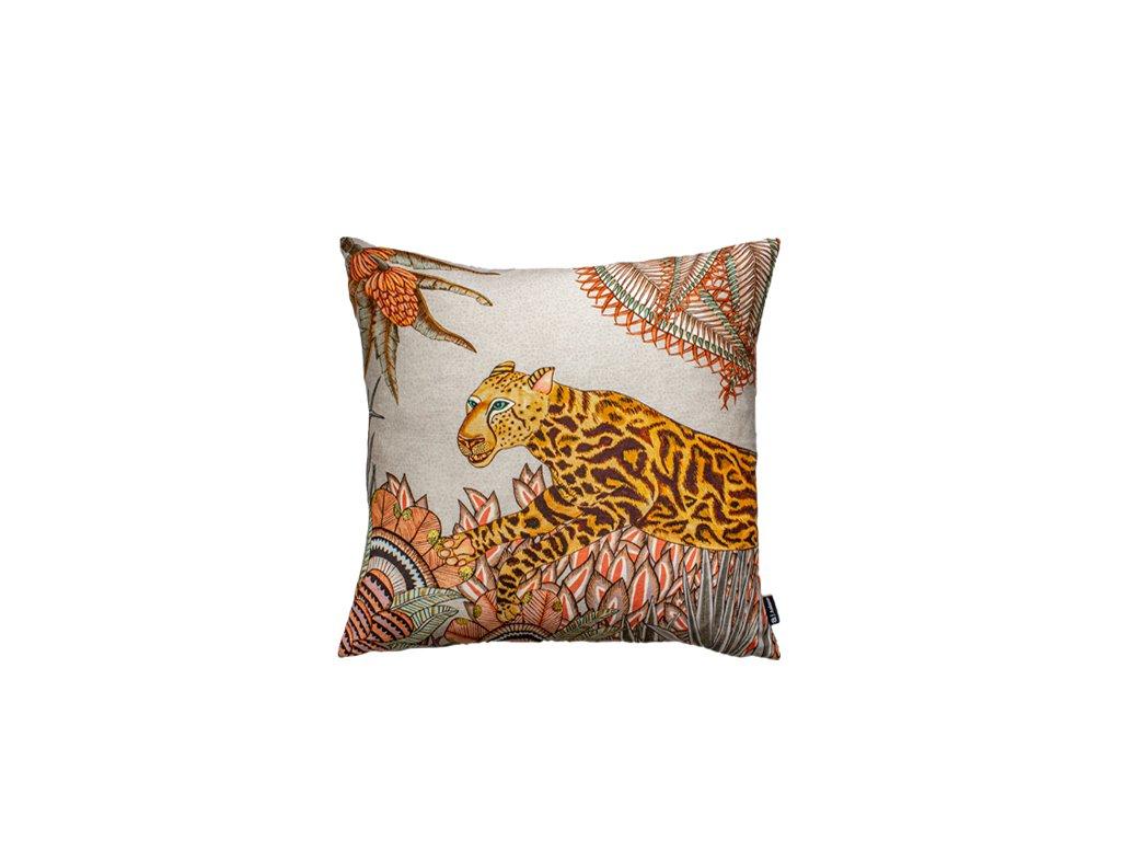 Polštář Cheetah King Forest Magnolia