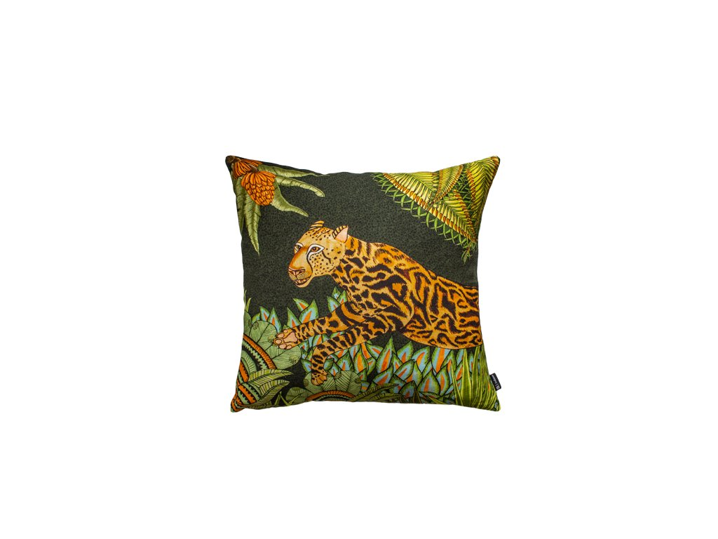 Polštář Cheetah King Forest Delta