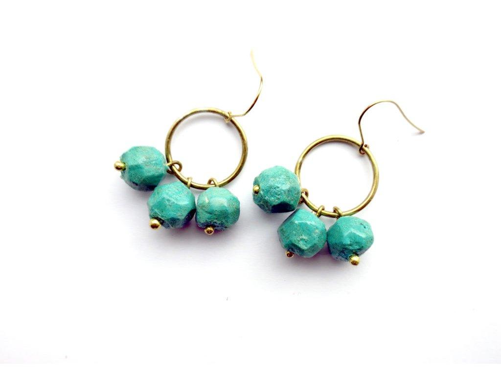 nugget triple earrings2 1024x722