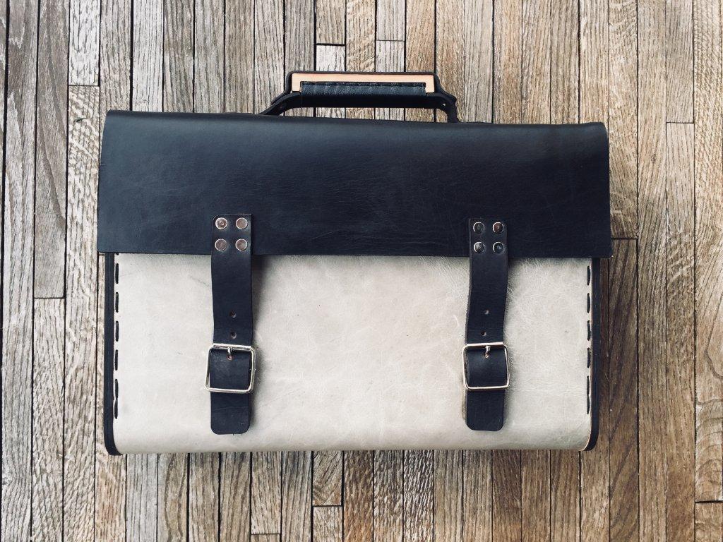 Kožená taška The Boss