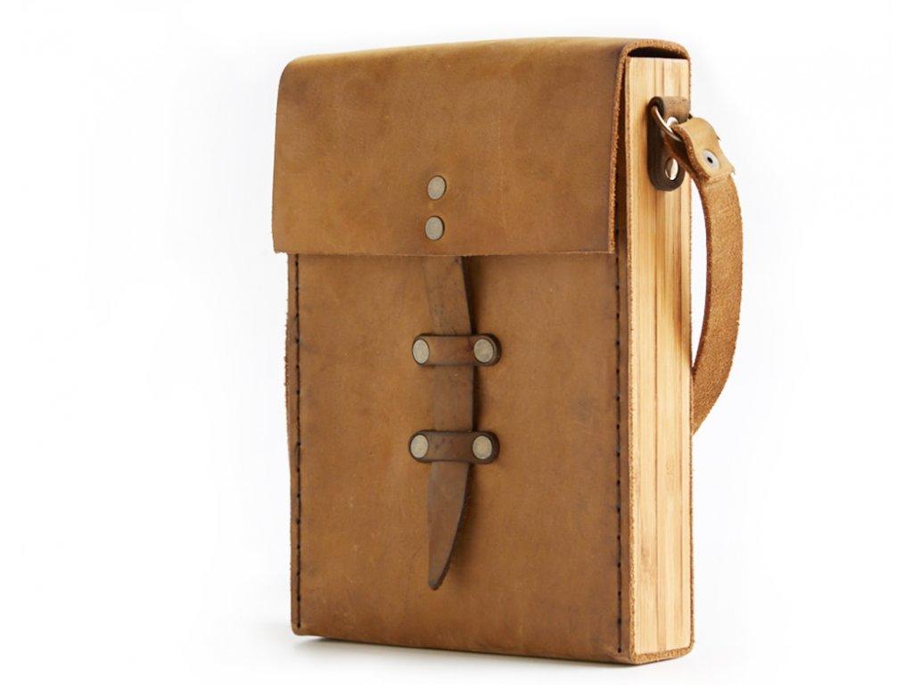 Kožená kabelka Hombre