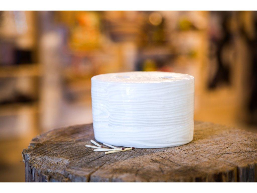 Svíčka White Bamboo ovál