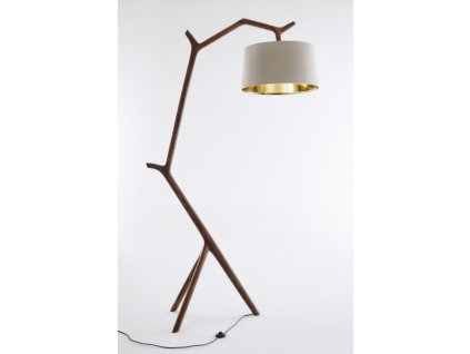 Umthi Hanging Lamp in Walnut