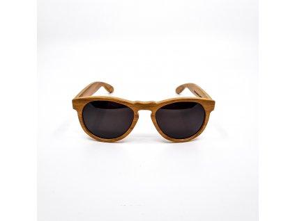Dřevěné brýle DRU, kiaat 1