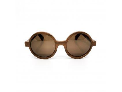 Dřevěné brýle DiLegno ořech
