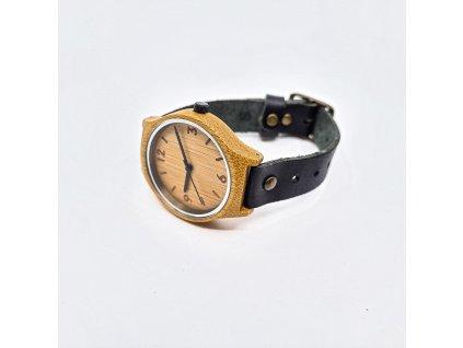 Bambusové hodinky original black