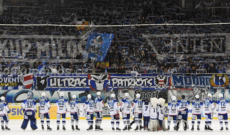 Modré růže aneb HC Kometa Brno - HC Pardubice