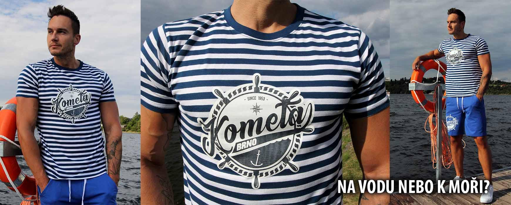 Námořnické tričko Kometa Brno