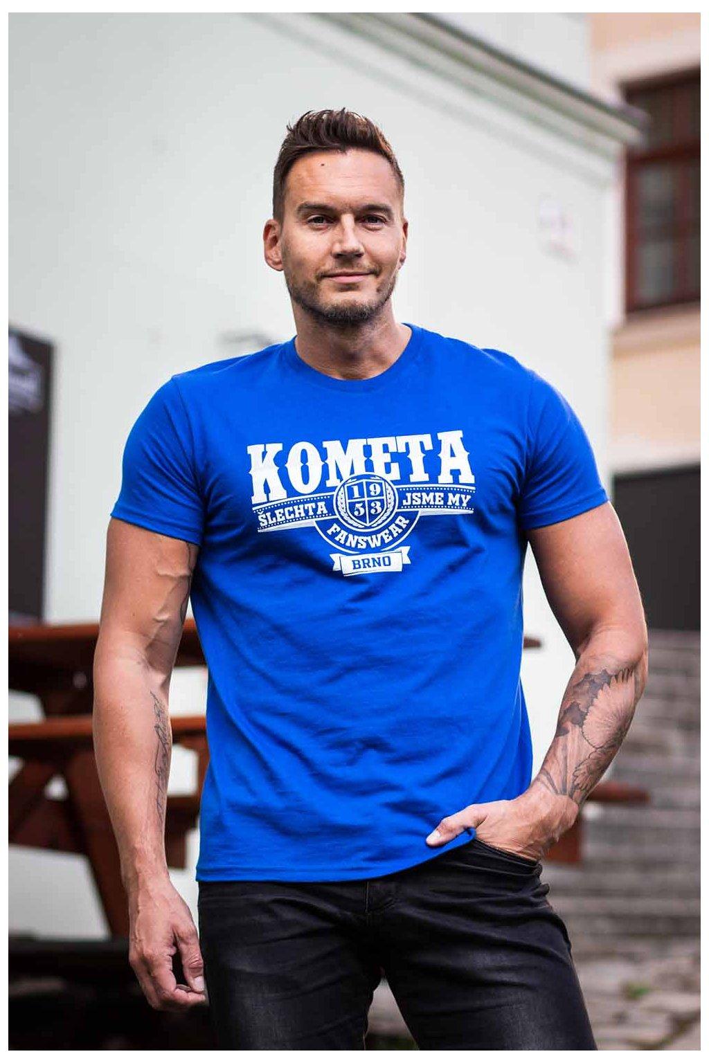 Tričko Kometa - Šlechta jsme my (modré)