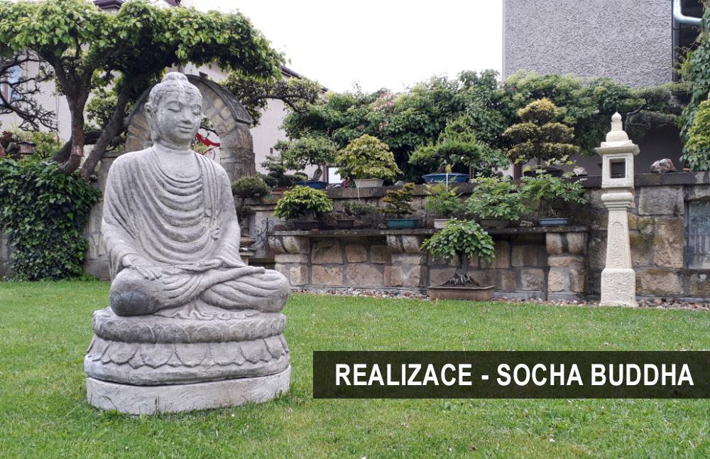 Realizace buddha zahrada