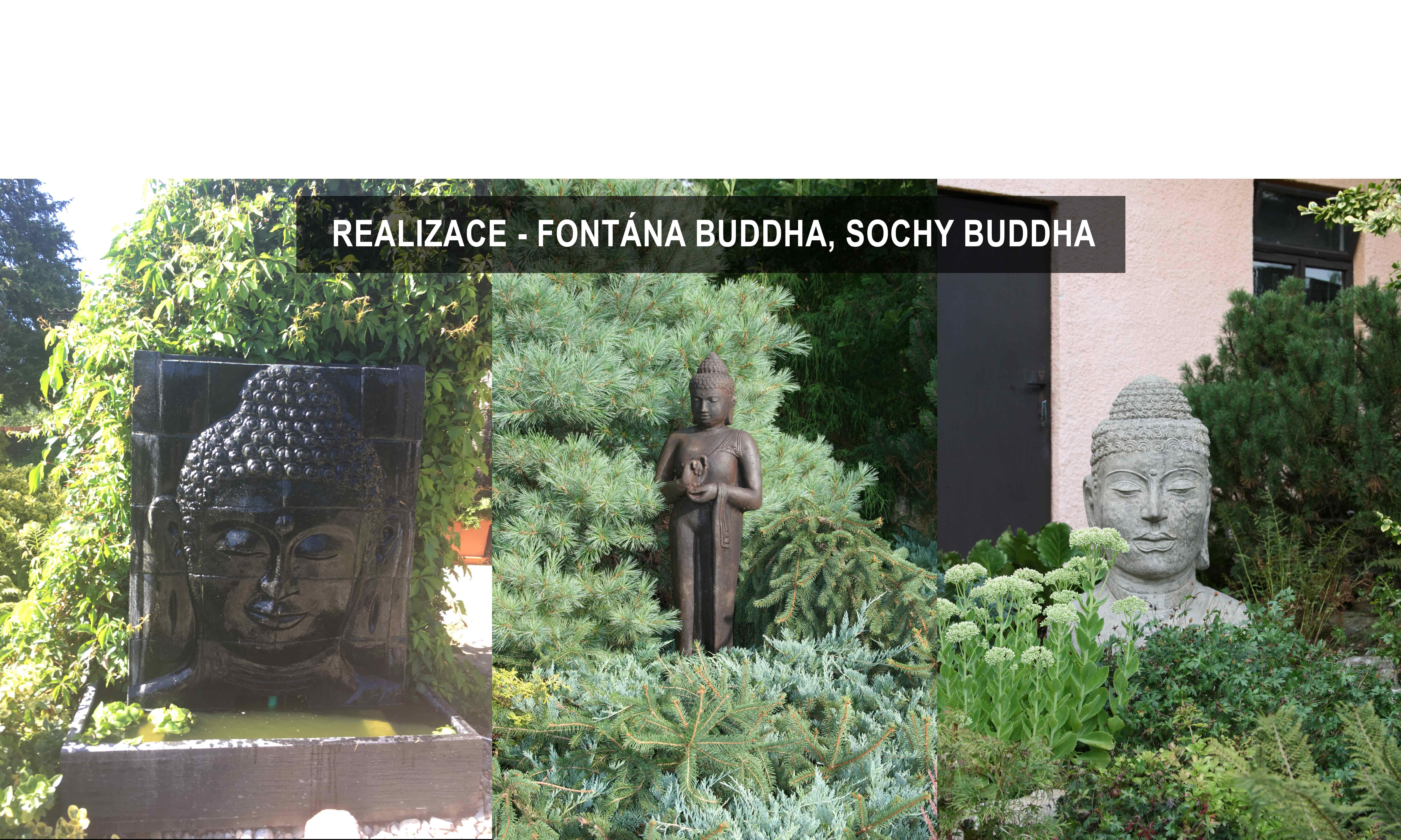 zahrada fontána
