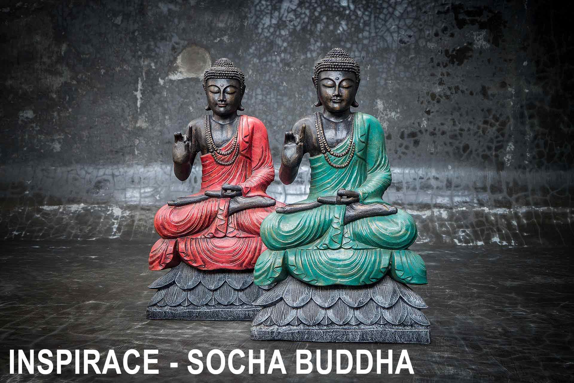 inspirace socha buddha
