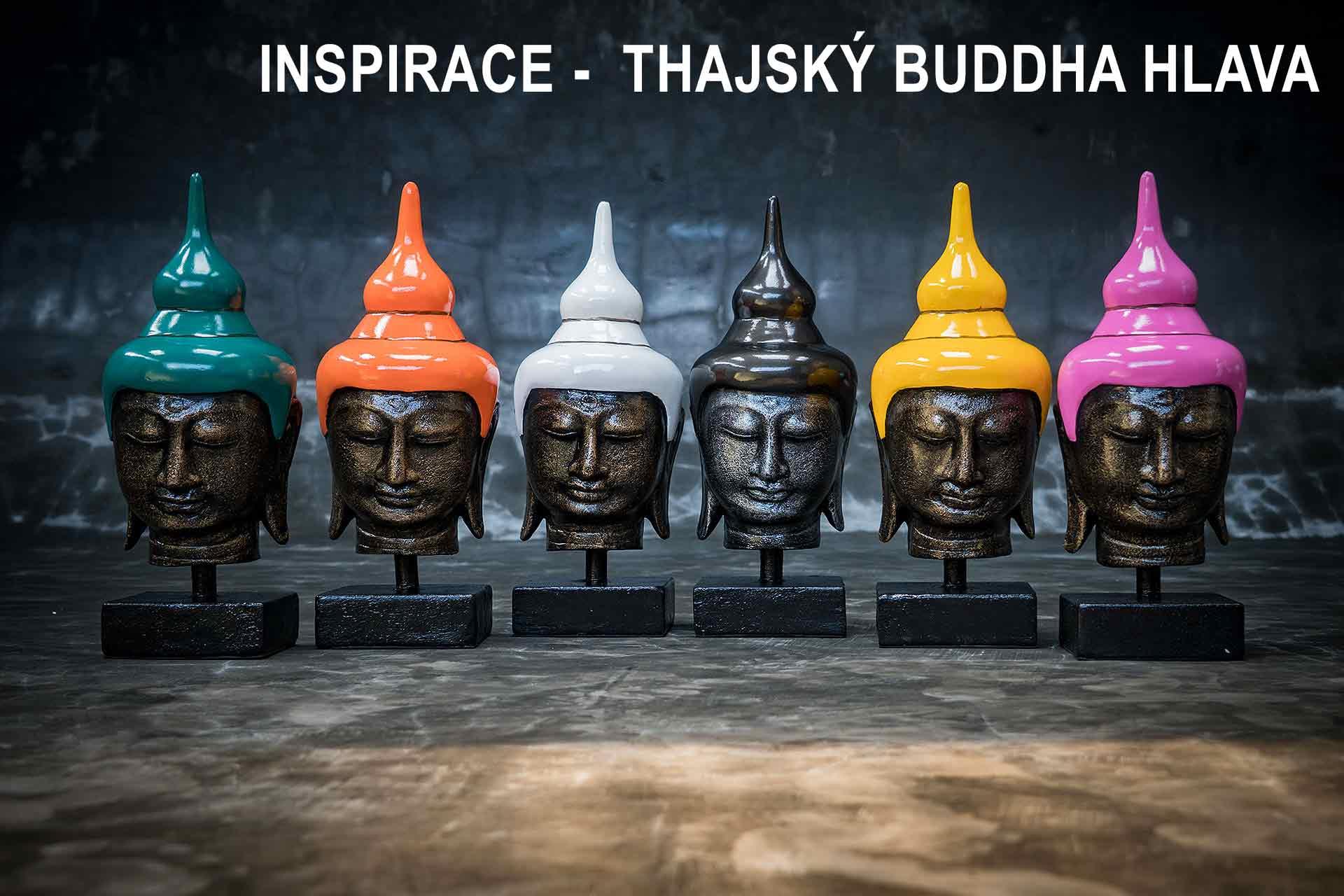 inspirace buddha hlava