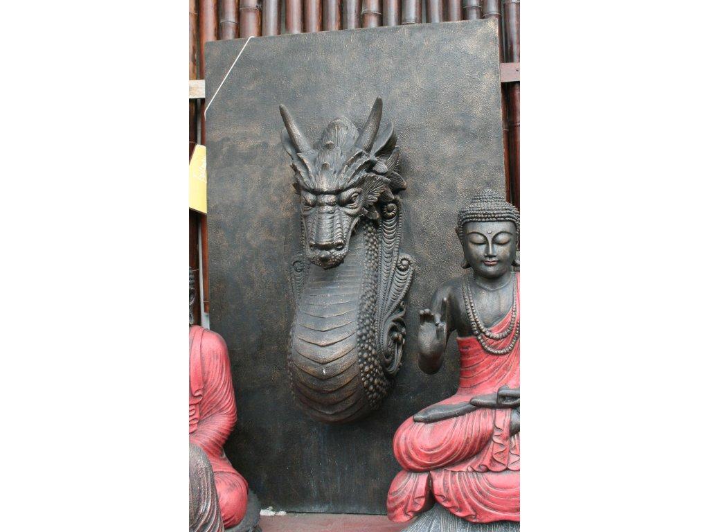 Fontána stěna Drak 150x100x60cm