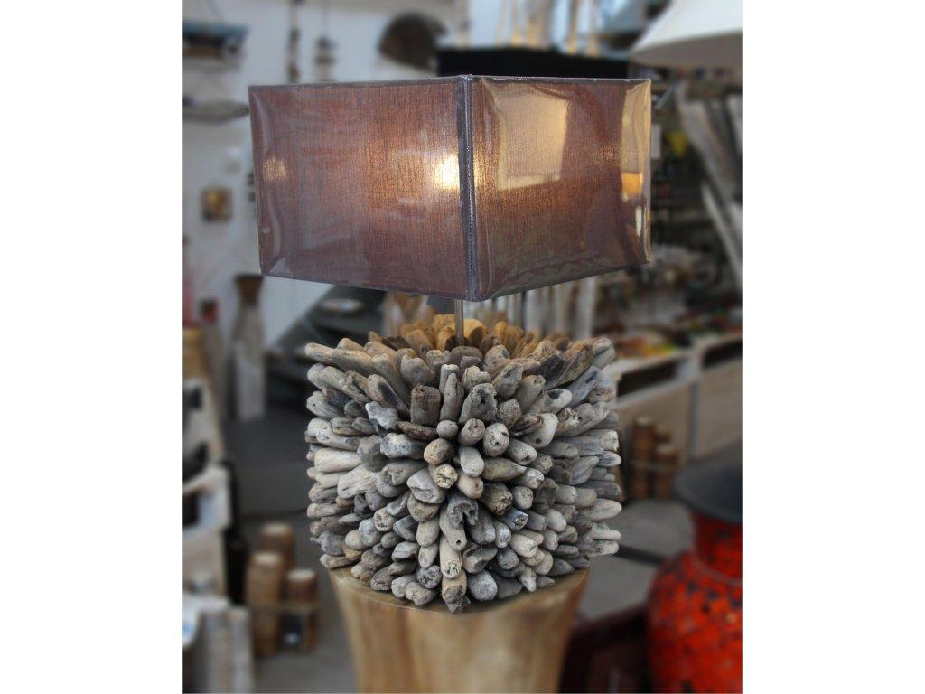 Lampa z vyplaveného dřeva 55cm