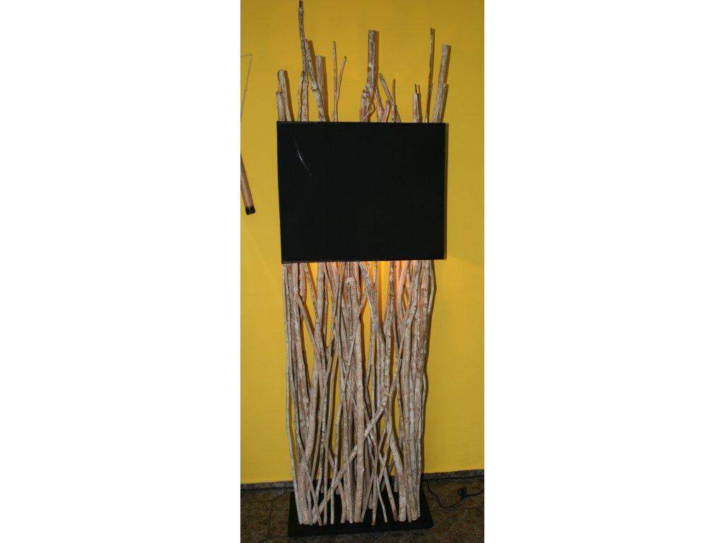 Originální lampa z kávového dřeva 200cm
