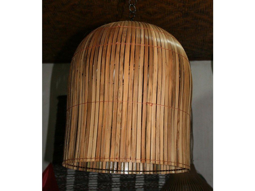 Lustr - lustrové stínidlo bambus Dom cage 45cm, pr. cca 35cm
