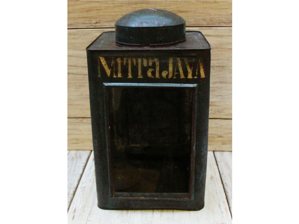 Retrolampa-lucerna Krupuk 24x24x44cm Nitrajaya