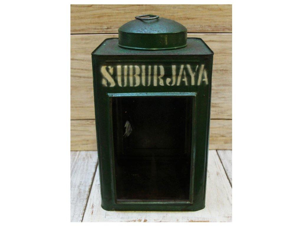 Retrolampa-lucerna Krupuk 24x24x44cm Suburjaya
