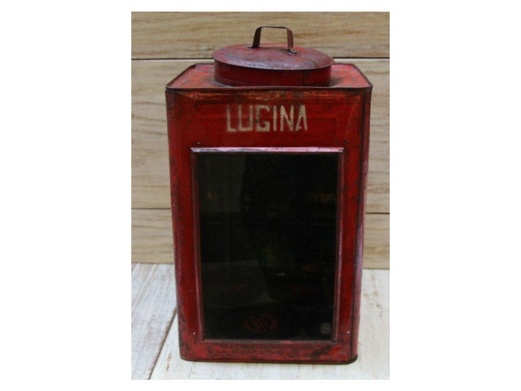 Retrolampa- lucerna Krupuk 24x24x44cm Lugina