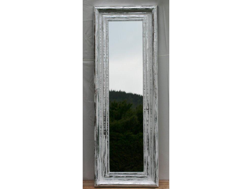 Dřevěné zrcadlo masiv s řezbou model 27 170x60cm