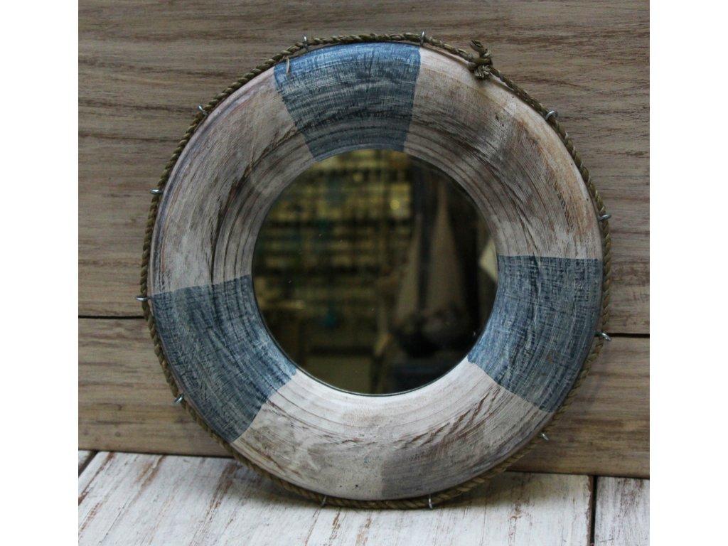 Dřevěné zrcadlo model 93 30x30cm