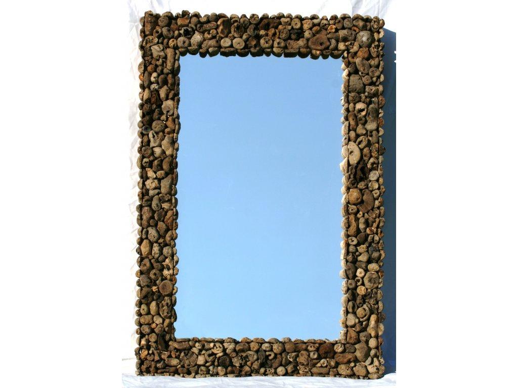 Zrcadlo z vyplaveného dřeva model 47 120x80cm