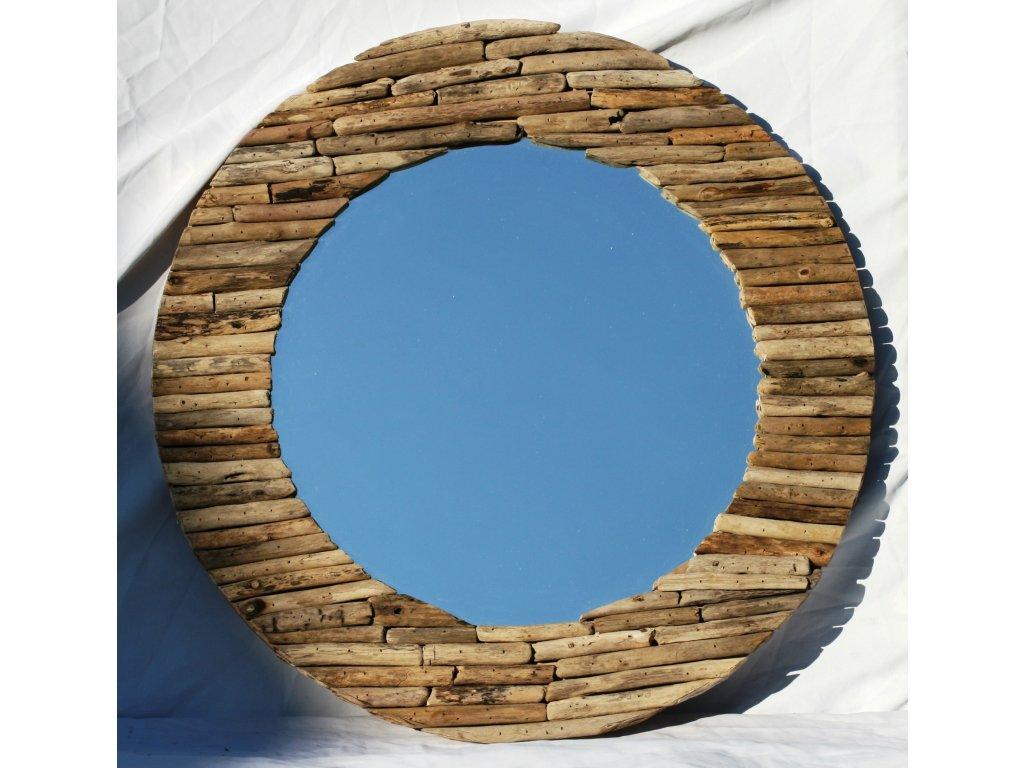 Zrcadlo z vyplaveného dřeva model 54 pr. 66cm