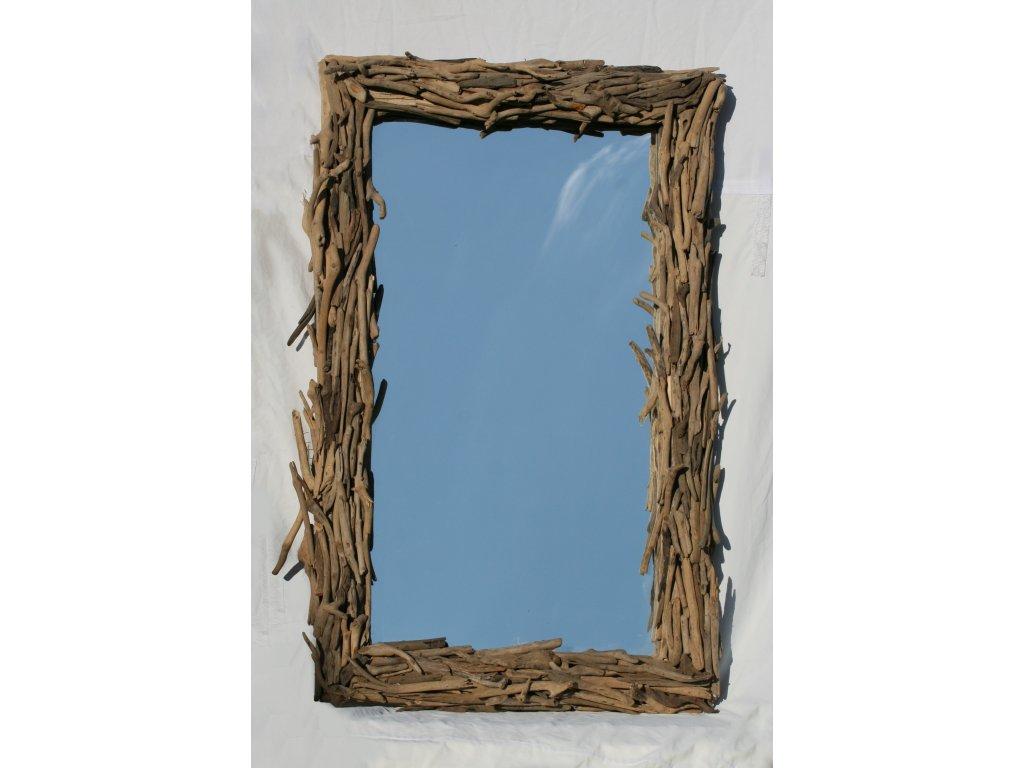Zrcadlo z vyplaveného dřeva model 88 132x82cm