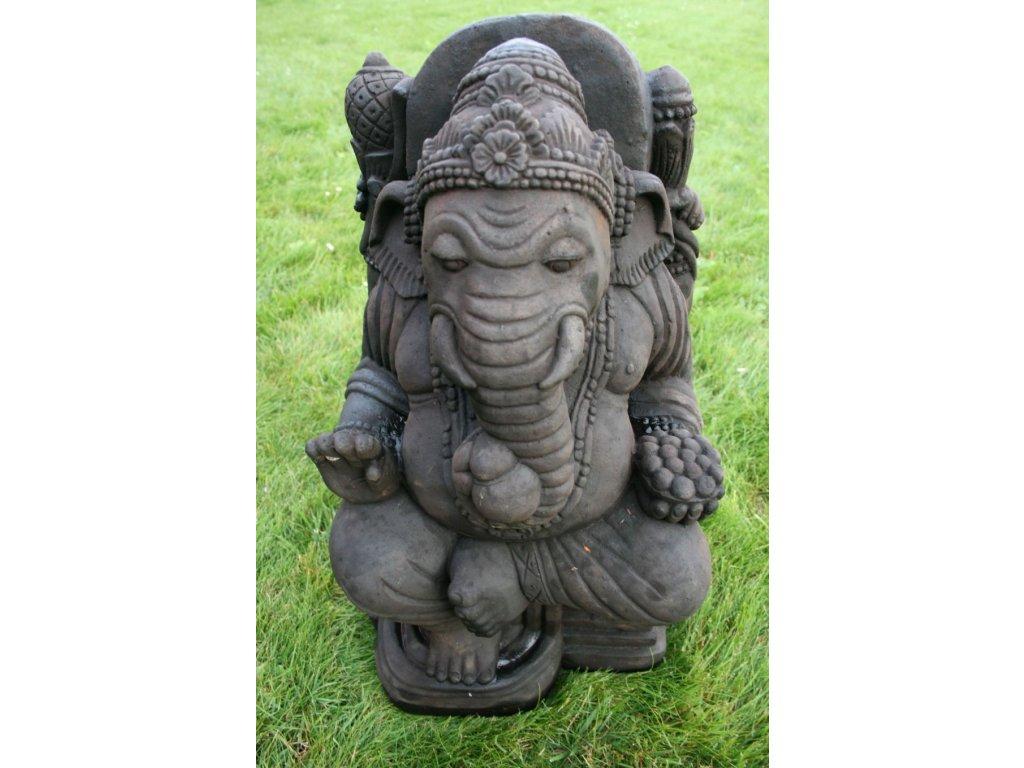 Socha Ganesha 60cm - Model A patina DB