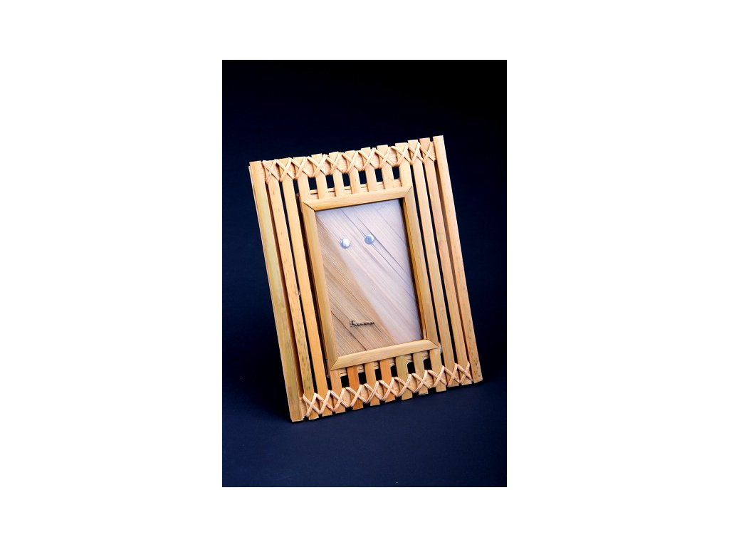 Rámeček z bambusu 20x16cm