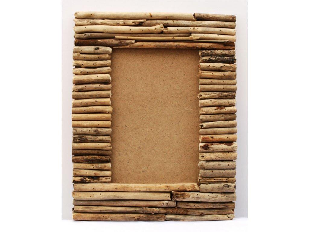 Rám z vyplaveného dřeva 35x45cm slim sticks