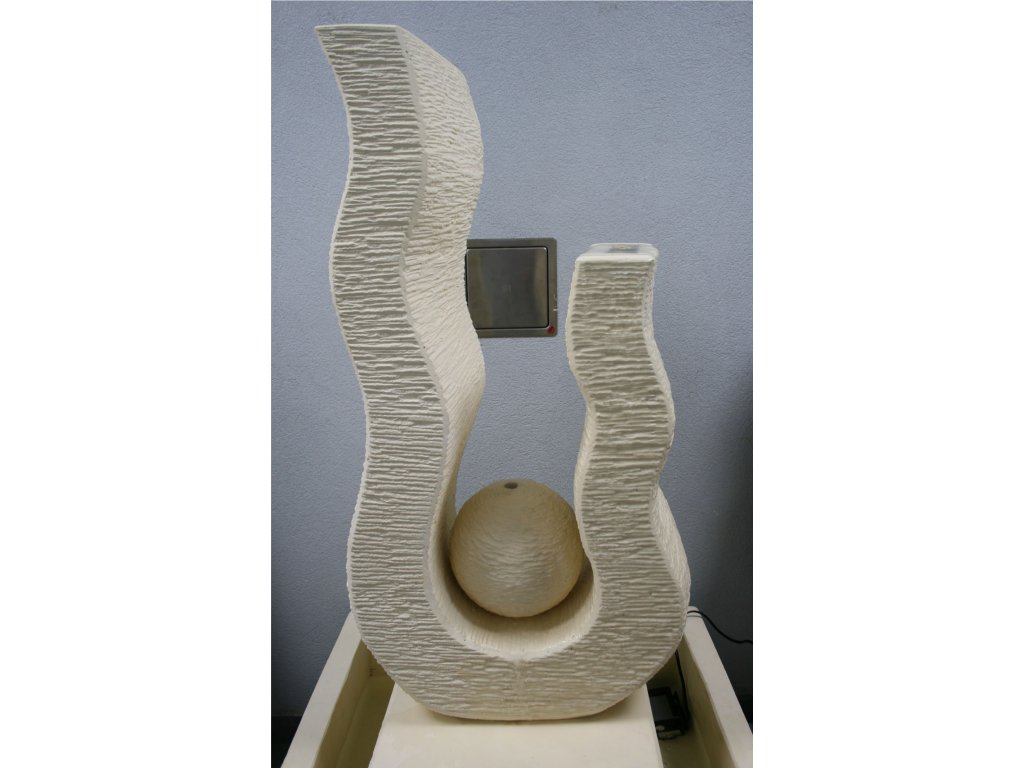 Fontána abstrakt model U 123cm patina CB