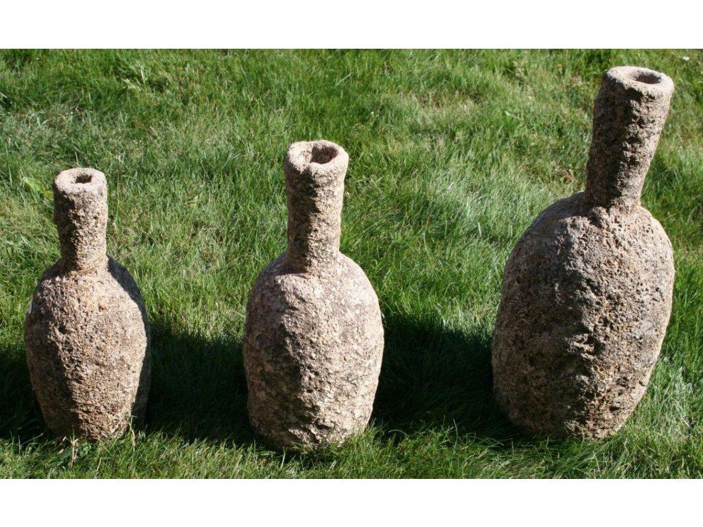 Váza terakota coral výška 47cm