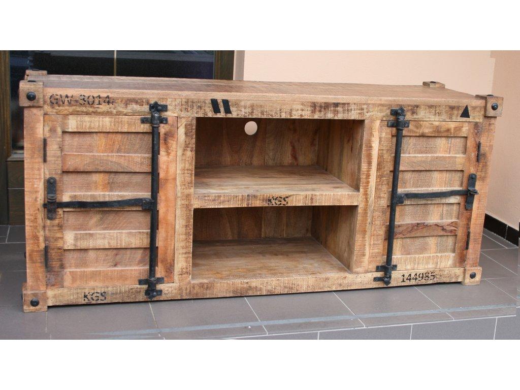 TV komoda 150x65x45cm mango wood